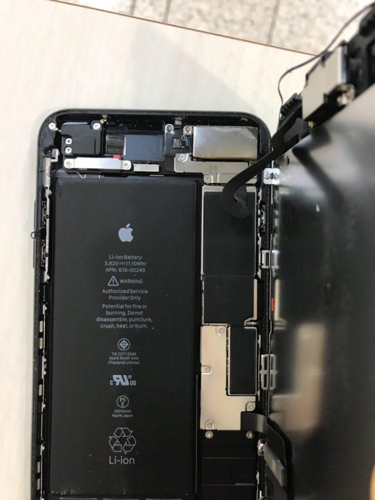 iPhone7 Plus 水没マーク写真