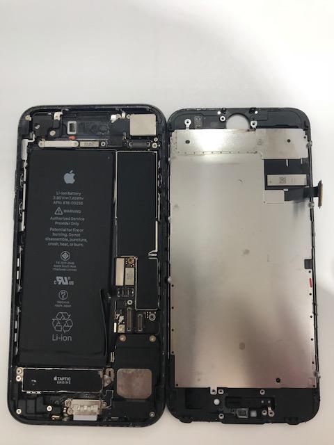 iPhone7 水没 内部写真