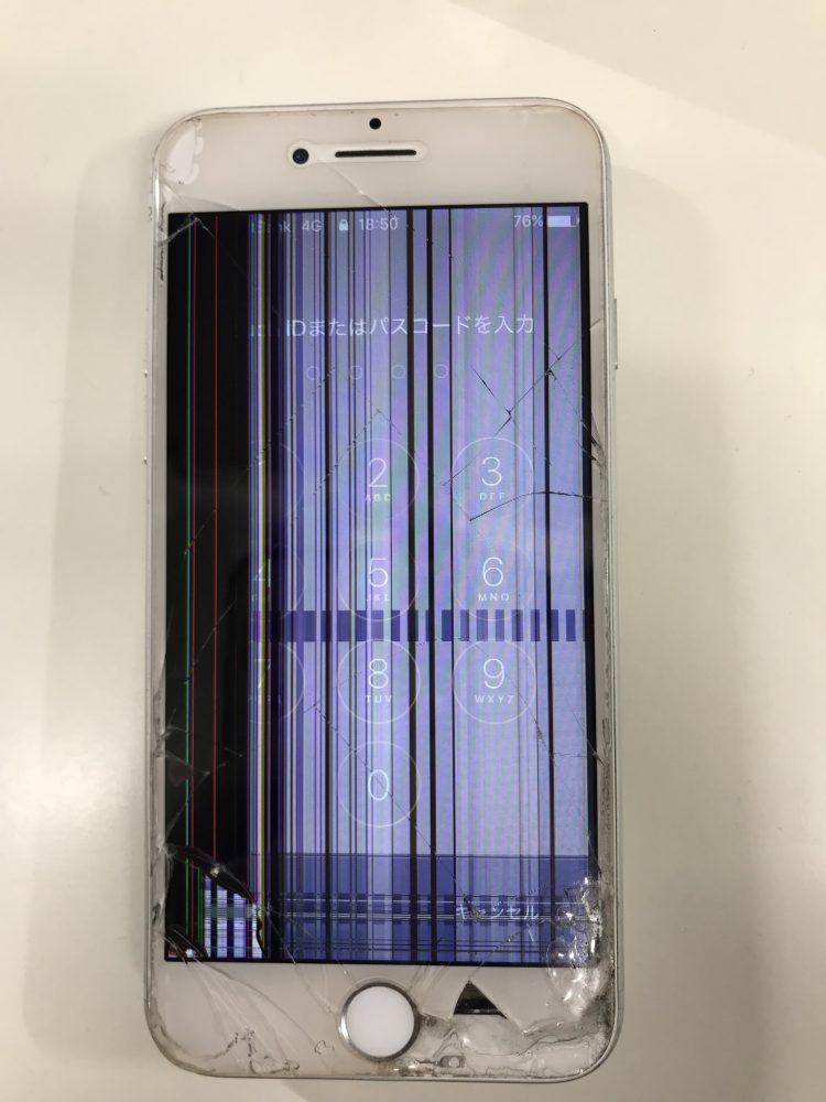 iPhone バーコード画面