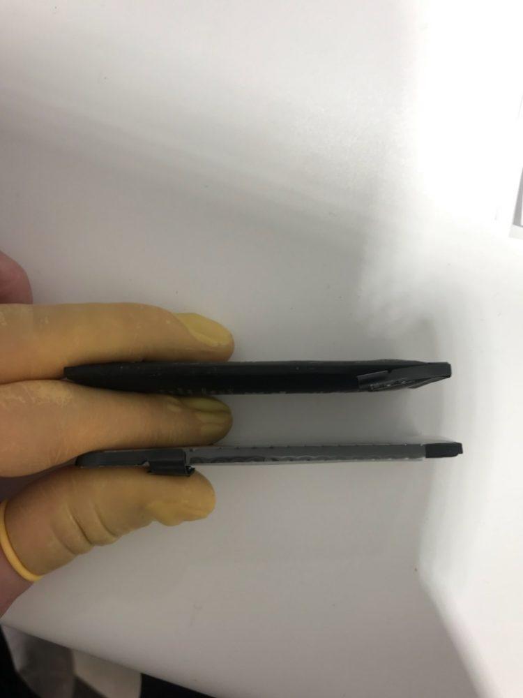 iPhone5 バッテリー 膨張