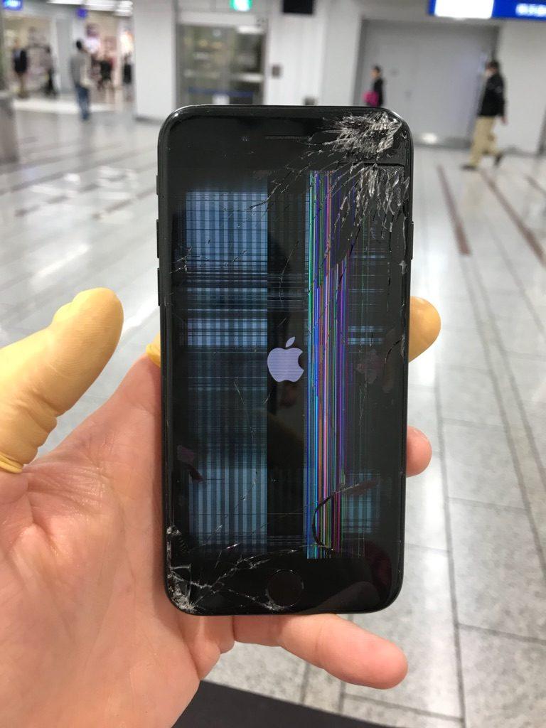 iPhone7 バーコード画面