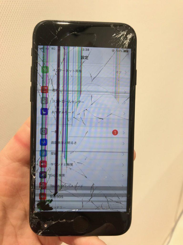 iPhone7 バーコード画像