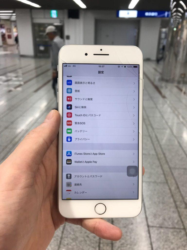 iPhone8Plus 修理後