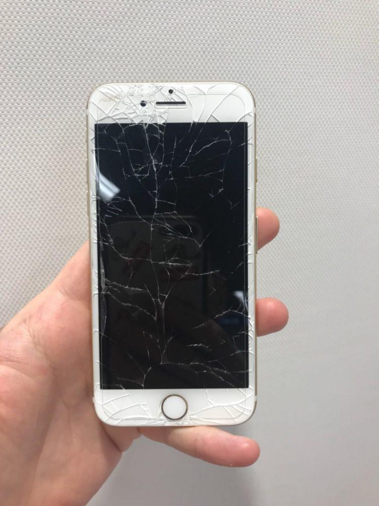 iPhone7 液晶表示不可