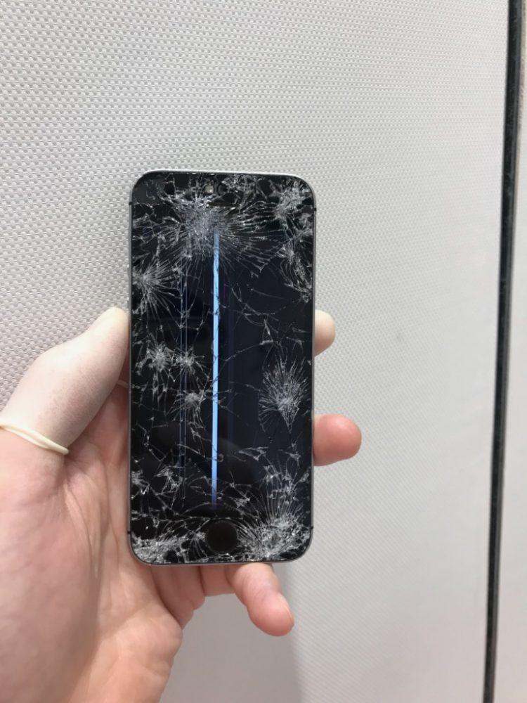 iPhone6 液晶崩壊