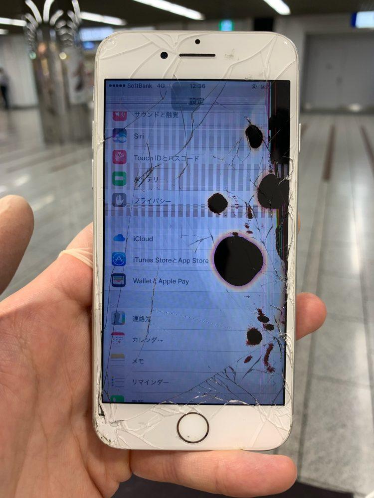 iPhone7 滲み