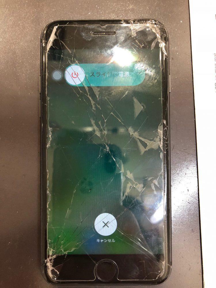iPhone8 修理前 画像