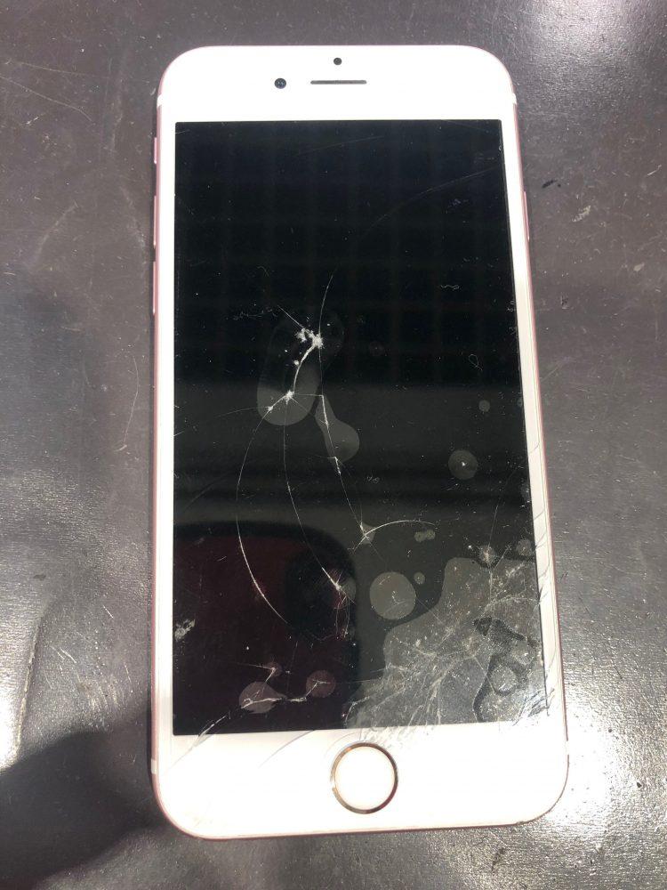iPhone 修理前写真