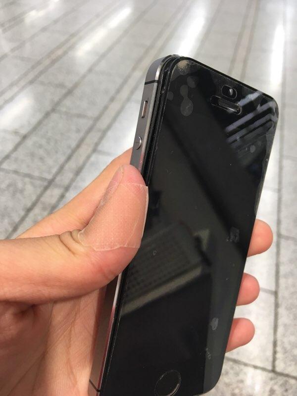 iPhone 浮き