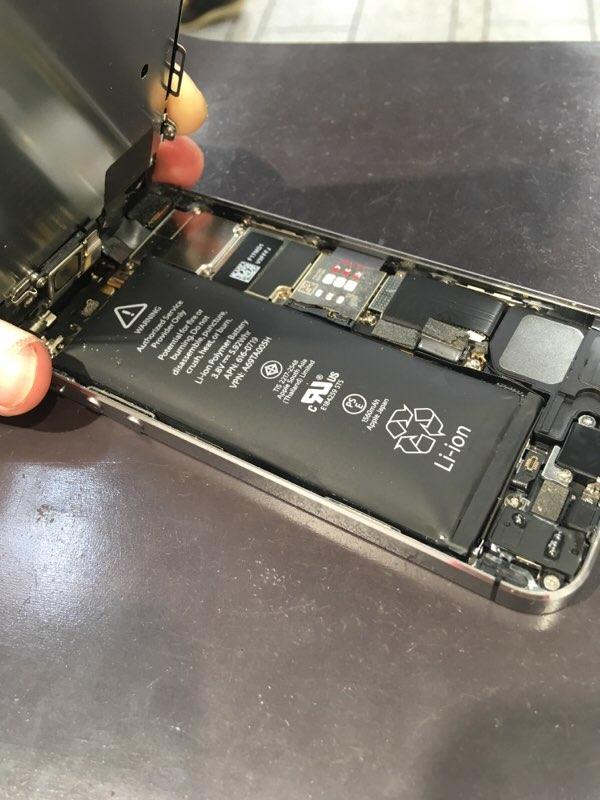 iPhone バッテリー 膨張