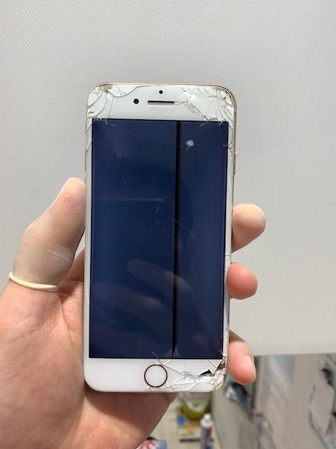 iPhone6s 液晶割れ