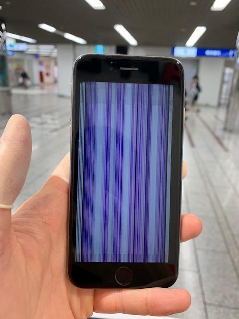 iPhone6s バーコード画面