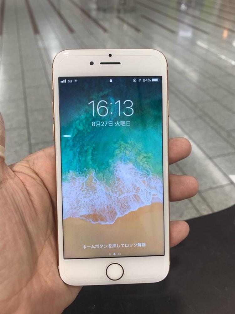 アイフォン8 修理後