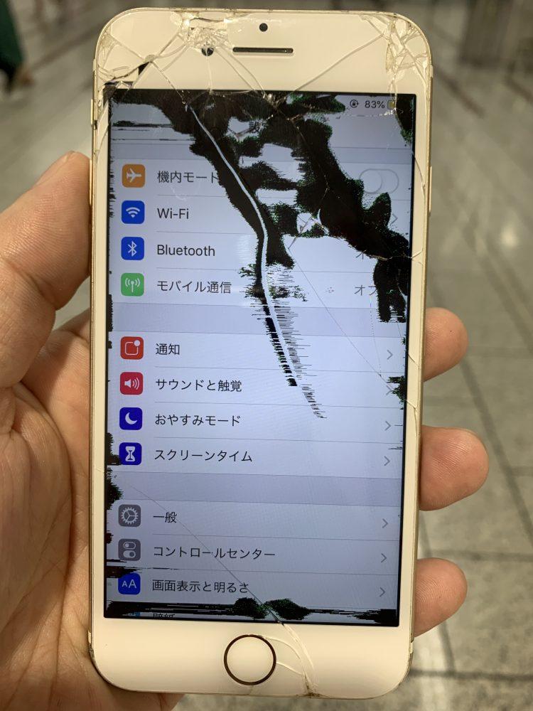 アイフォン6s 液晶漏れ