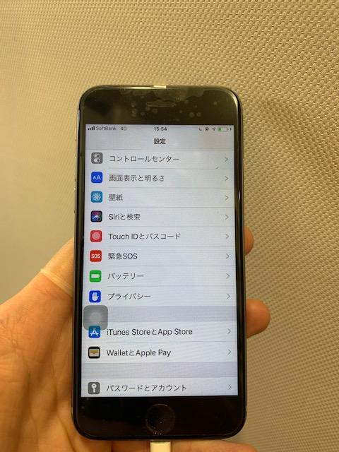 iPhone6s 修理後