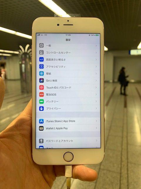 iPhone6sp 修理後