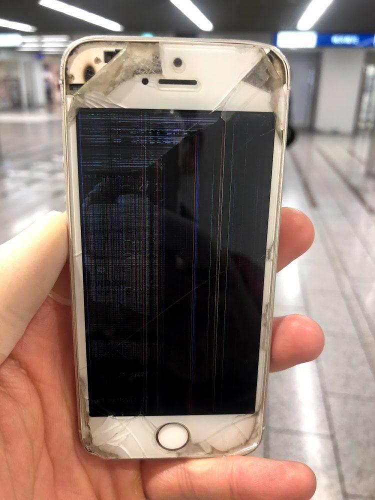iPhoneSE 画面表示不良