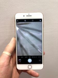 iPhone8Plus カメラ交換前