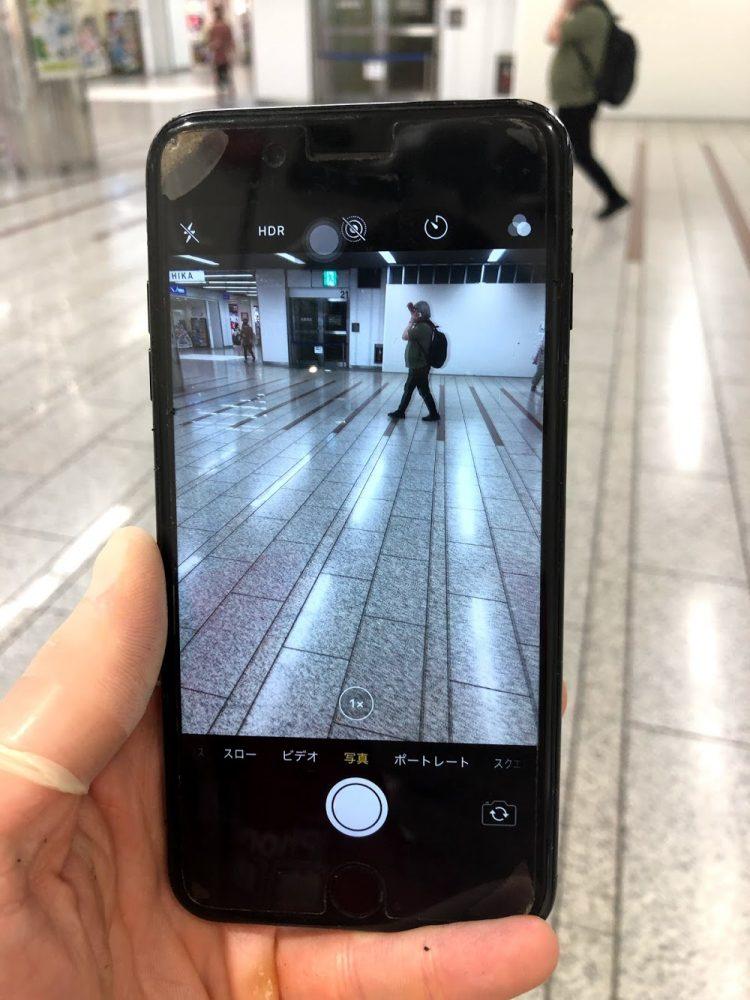 iPhone7Plus カメラ交換後