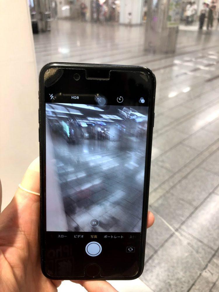 iPhone7Plus カメラ交換前