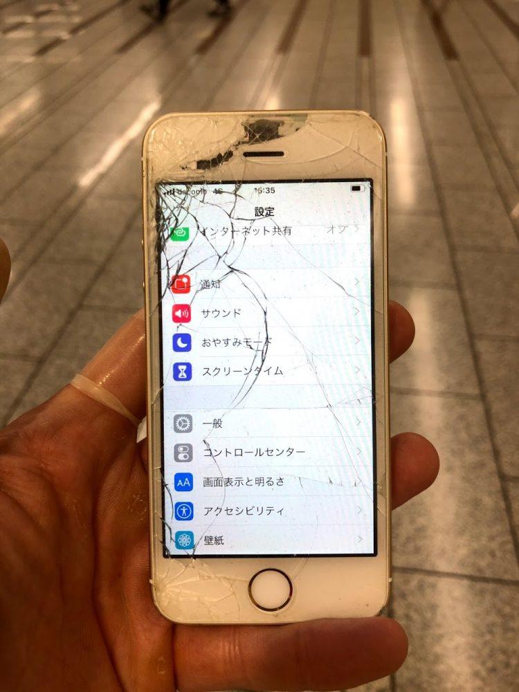 iPhoneSE 修理前
