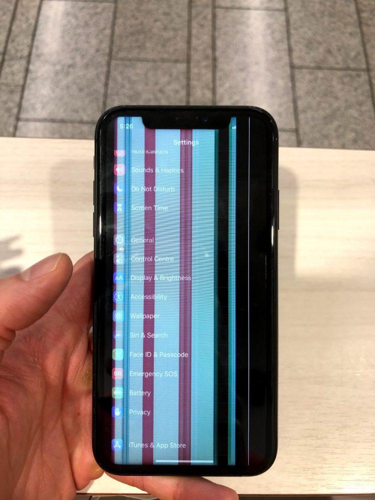 iPhoneXR 修理前