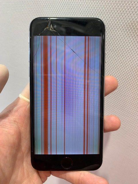 iPhone6s 液晶崩壊