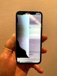 iPhoneXS 表示不良
