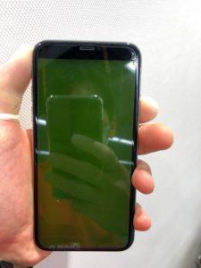 iPhoneX 表示不良