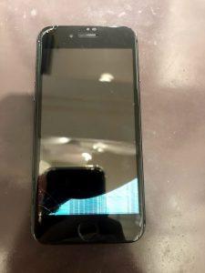 液晶崩壊iPhone7