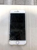 iPhone8 液晶崩壊