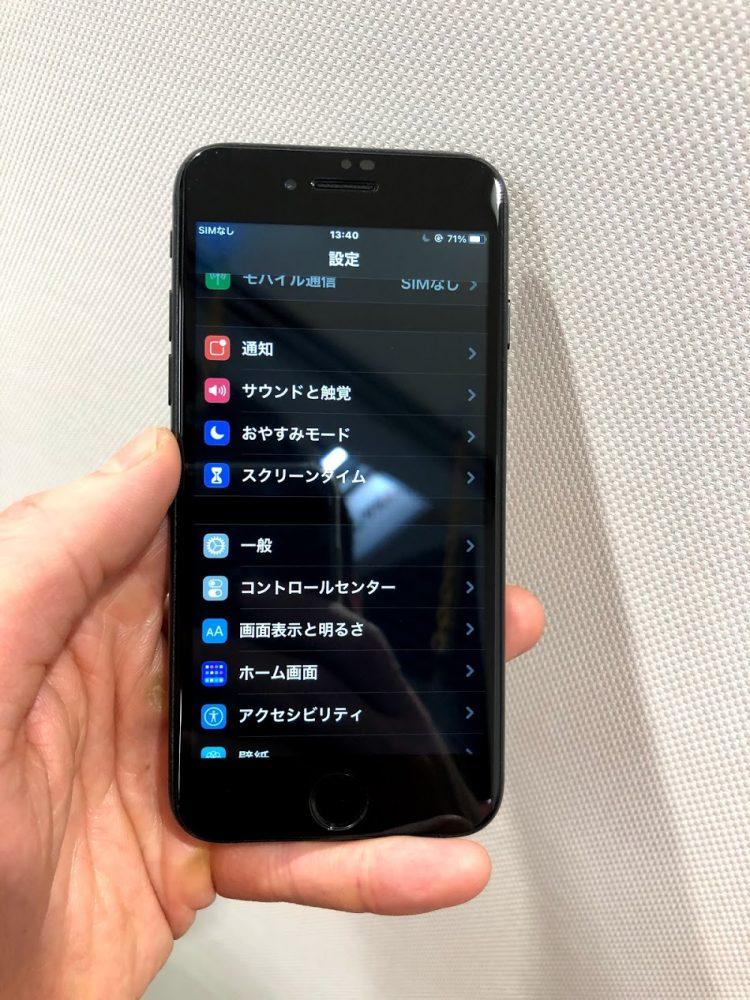 iPhoneSE2 修理後