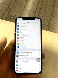 iPhoneXS 修理後