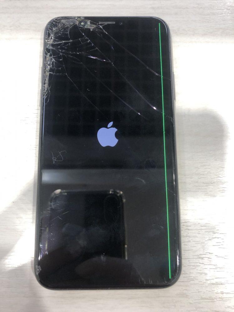 iPhone X画面交換