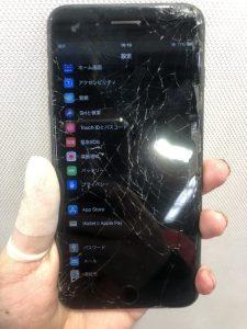 iPhone8修理前画像
