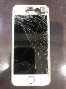 iPhone5s修理前画像