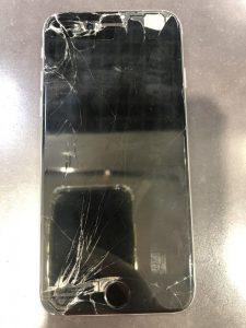iPhone6 画面交換前 画像