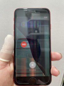 iPhone SE2修理前 画像