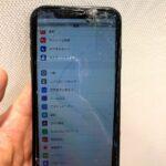 【iPhoneX】画面が割れてタッチ不可能に(゚д゚)!修理出来ますか!?