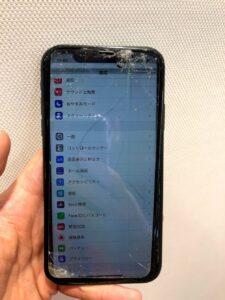 iPhoneX タッチ不可