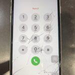 <!-- iPhoneSE2 -->ひび割れを放置しますと思わぬ故障の原因に。。。。