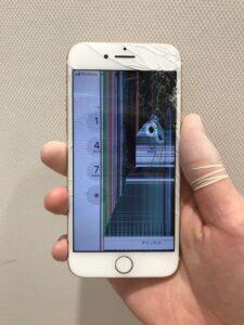 iPhoneSE 液晶破損