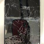 「iPhone7」車に踏まれてしまったiPhoneもスマップル川崎店にお持ち込みください!