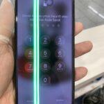 【幸区より】iPhoneXに緑の線が。。。タッチも出来ないけど修理可能??