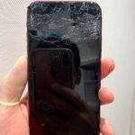 【iPhoneXR】落下の衝撃で画面が映らなくなってしまった。。。データは無事取り出せる!?