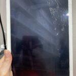「iPad5」ガラスにヒビが入ってしまったiPadも修理は可能?