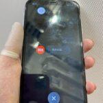 「iPhoneXR」画面が切り替わると表示不良になる画面もお任せください!