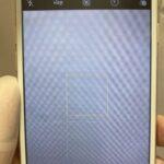 「iPhone8」iPhoneを落としたカメラからイオンが。。。これも修理可能?