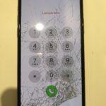 iPhone11Pro画面割れゴーストタッチ。。画面修理&コーティング施しました!!